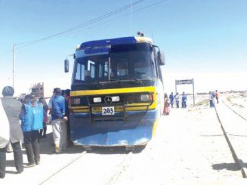Oruro: Se inician las operaciones del tren urbano