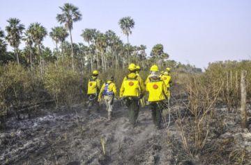 Paraguay considera controlados los incendios en frontera con Bolivia y Brasil