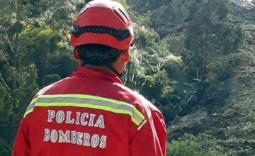Un bombero desapareció en Coroico tras mitigar un incendio