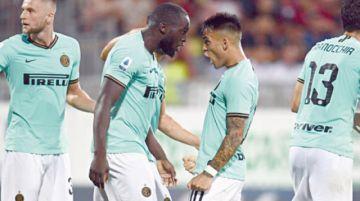 Martinez y Lukaku le dan la victoria al Inter en el Calcio