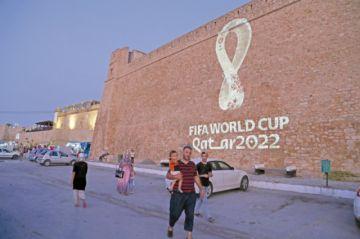 Qatar 2022 presenta logo
