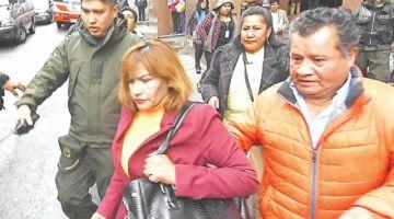 Fiscalía ve demora en caso de exjueza Patricia Pacajes