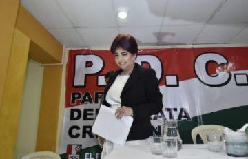 PDC se quiebra: Barriga renuncia a la candidatura a la Vicepresidencia