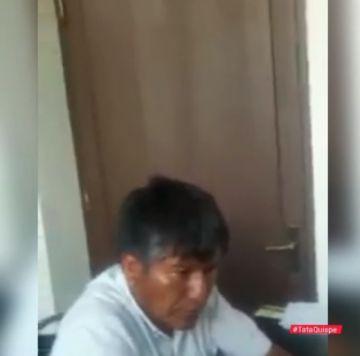 Opositores denunciarán al Gobernador de Oruro, filmado en estado de ebriedad