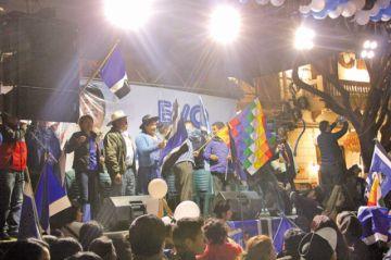 Campaña: El MAS no dice cuánto gastará en Sucre