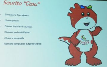 Conoce a la mascota de los Juegos Bolivarianos de la Juventud