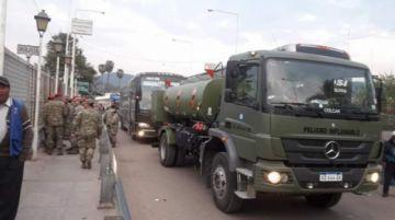 Brigada argentina ingresa al país para combatir el fuego en Chiquitanía