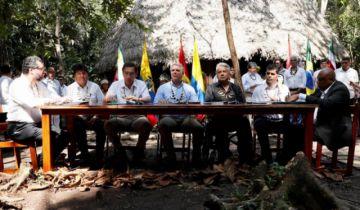 """Presidentes firman """"Pacto de Leticia"""" para preservar la Amazonía"""