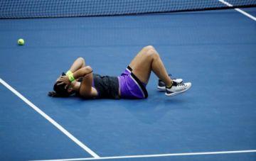 Una indomable Andreescu supera a Serena Williams y gana el Abierto de EEUU