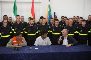 Francia se suma a la extinción del fuego en la Chiquitanía