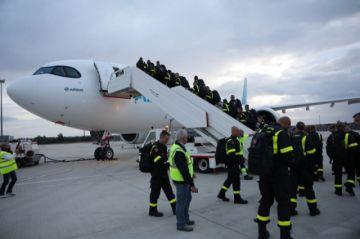 Francia envía 40 ingenieros y equipos a la Chiquitanía