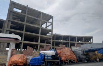 La Alcaldía retoma obras  en mercado San Antonio