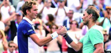 Nadal y Medvedev decidirán al nuevo campeón