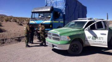 Bolivianos disparan a carabinero chileno en zona fronteriza