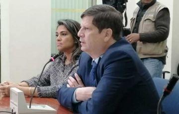 Magistrado Egüez insiste en que es inocente y que no se aferra al cargo
