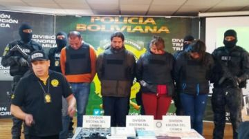 La Paz: Envían  a prisión a banda  de proxenetas