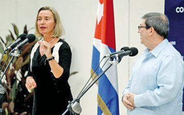 La UE se ofrece a financiar mayor apertura en Cuba