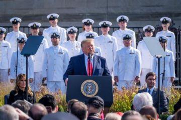 Trump amenaza a  talibanes durante el aniversario del 11-S