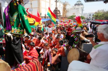 Guadalupe: Desfile atrajo  a más extranjeros en 2018