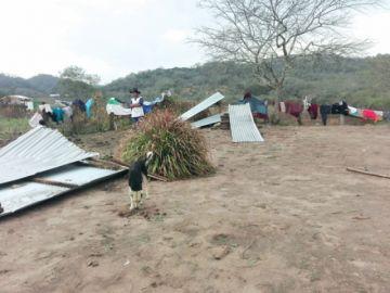 Vientos intensos dejan su huella en municipios