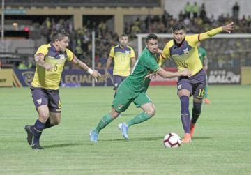 Bolivia no pudo ante Ecuador y perdió