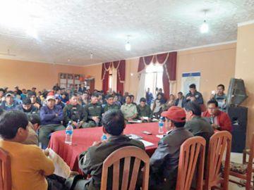 Policía vuelve a operar al municipio de Villa Charcas