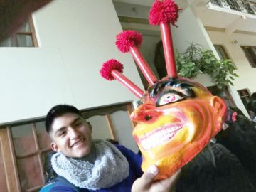 Guadalupe: Primer día con devoción y colorido