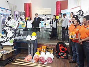 Solidaridad: SAR Bolivia recibe apoyo de voluntarios