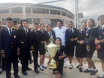 Banda del Don Bosco brilla en Cochabamba