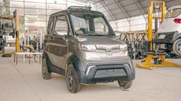 A la venta auto eléctrico  fabricado en Cochabamba