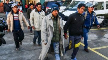 Envían a la cárcel a ocho aprehendidos por la violencia en Chulumani