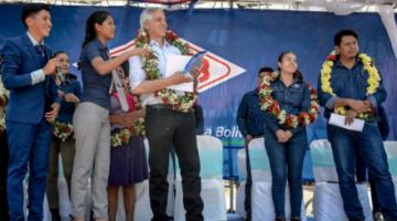 García Linera: Los violentos no tienen futuro, solo quieren destruir Bolivia