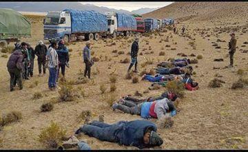 Liberan en Chile  a 57 personas  contrabandistas