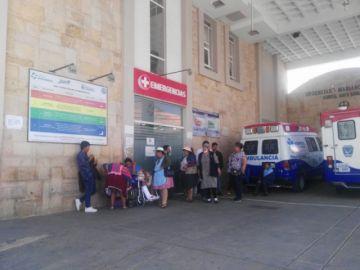 Hospital atendió a una docena de pacientes por accidentes y caídas