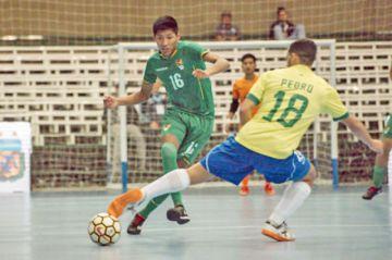 Bolivia cae ante Brasil