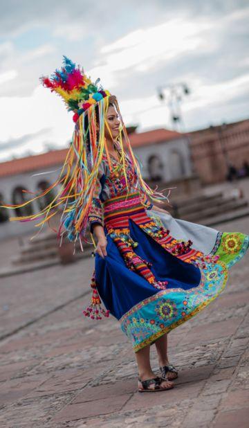 A todo folclore para la Virgen de Guadalupe