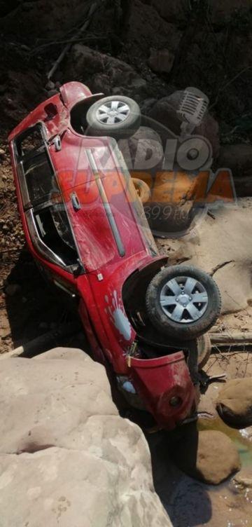 Fallas mecánicas provocan accidente en Monteagudo
