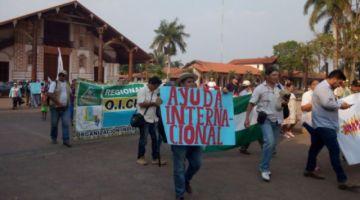 Indígenas inician X marcha para que se declare desastre nacional por incendios