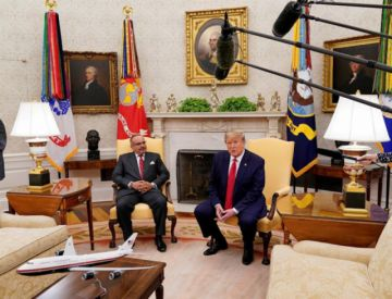 Trump no quiere hablar de una guerra contra Irán