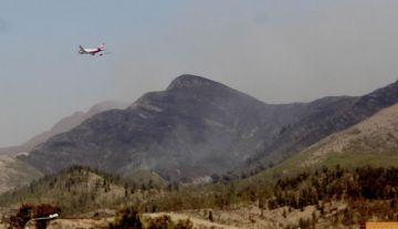 Defensa Civil reporta que se sofocó el incendio en Tarija