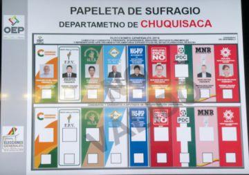 Habilitan más candidatos en Chuquisaca para la ALP