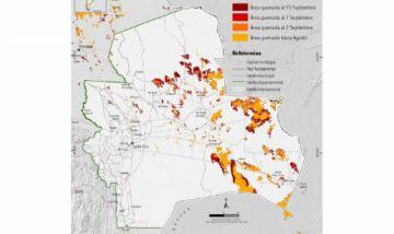 FAN: Se quemaron más de 3 millones de hectáreas en Santa Cruz