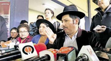 Mujer que denunció a Urquizu afirma que el MAS le ofreció ser candidata