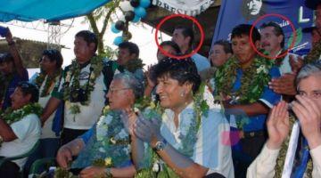 Ejecutivos de OAS estuvieron junto con Evo en una campaña del MAS en 2005
