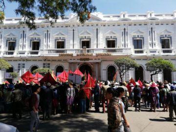 Consejo del Distrito 2 marcha por aprobación del POA