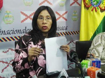 Diputada: Gobierno quiere dejar impunes las muertes en La Calancha