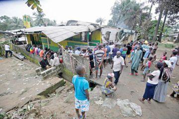 Liberia: Mueren 28 niños al incendiarse un internado