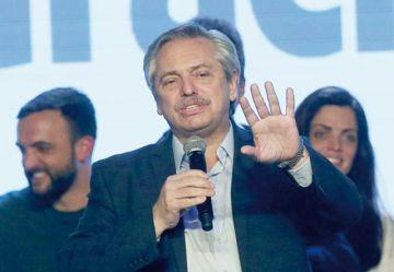 Evo recibe a candidato peronista Fernández