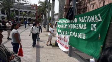 Marcha por la Chiquitanía llega a San Rafael y se acerca a Santa Cruz
