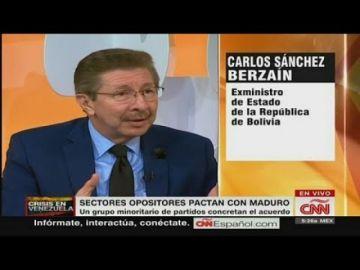 """Carlos Sánchez Berzaín ve """"oposiciones funcionales"""" en cuatro países"""